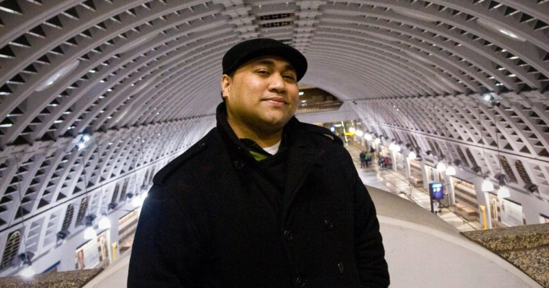 Jubilation Foundation Teaching Artist Fellow John Phoenix Leapai